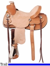 """** SALE ** 12"""" to 14"""" Silver Royal Wylie Youth Wade Saddle 401"""