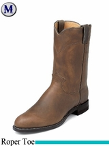 10.5EE Wide Men's Justin Boots