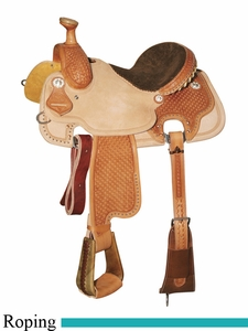 "** SALE **13"" to 16"" Circle Y Xtreme Performance Vinita All-Around Roper 2722 *free gift*"