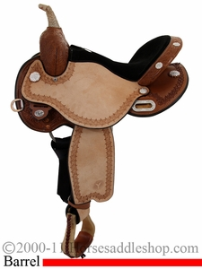 "13"" 13.5"" 14"" 14.5"" 15"" 16"" 17"" Circle Y Kelly Kaminski Flex2 Blaze Barrel Racer 1528 *FREE MATCHING CIRCLE Y SADDLE PAD OR CASH DISCOUNT!*"