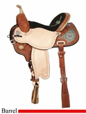 "** SALE **13"" to 17"" Circle Y Kelly Kaminski To The Max Flex2 Barrel Racer 1543 *free pad or cash discount*"