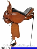 "13"" to 17"" Circle Y Kenny Harlow Complete Competitor Grainout Flex2 Saddle 5626 *free pad or cash discount*"