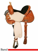 "13"" 13.5"" 14"" 14.5"" 15"" 16"" Lisa Lockhart Dynamo Flex2 Barrel Racer 1545 *FREE MATCHING CIRCLE Y SADDLE PAD OR CASH DISCOUNT!*"