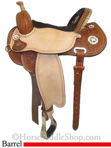 "13"" to 16"" Circle Y Lisa Lockhart Fast & Furious Flex2 Barrel Racer 1544"