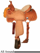 "13"" to 16"" Reinsman All-Around Saddle 4501"