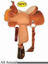 "13"" 13.5"" 14"" 14.5"" Reinsman All-Around Saddle, Reg or Wide Tree 4501"