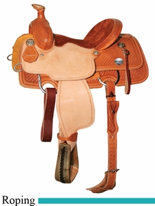 "13"" 13.5"" Reinsman Junior Roper Saddle 4502"