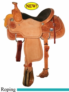 "13"" 13.5"" 14"" 14.5"" Reinsman Lady Roper Saddle, Reg or Wide Tree 4402"