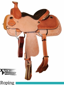 "** SALE ** 13"" 13.5"" Circle Y XP Hesperia Junior Roper Saddle 2773 w/Free Pad"