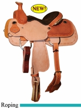 "13"" 13.5"" Circle Y XP Hesperia Junior Roper Saddle 2773 *free gift*"