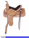 "13"" 14"" 15"" 16"" 17"" American Saddlery Trails for All Saddle am1460"