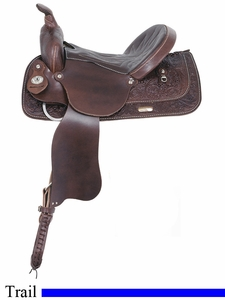 "13"" 14"" 15"" 16"" 17"" American Saddlery Trails Together Trail Saddle am1465"