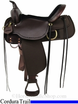 "13"" to 17"" Cordura Trail Saddle 'Driftwood' High Horse by Circle Y 6921"