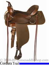 "13"" to 17"" Cordura Trail Saddle 'Lockhart' High Horse by Circle Y 6910"