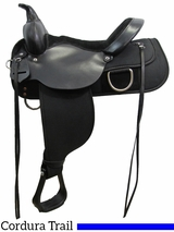 "** SALE ** 13"" to 17"" High Horse by Circle Y Lockhart Cordura Trail Saddle 6910"