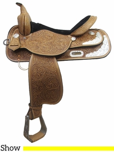 "13"" to 17"" High Horse by Circle Y Gladewater Show Saddle 6310"