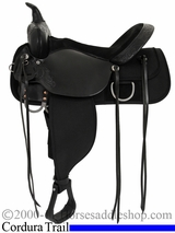 "13"" to 17"" High Horse by Circle Y 'Corsicana' Cordura Trail Saddle 6920"