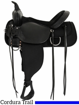"** SALE ** 13"" to 17"" High Horse by Circle Y Corsicana Cordura Trail Saddle 6920"