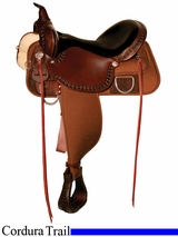 "13"" to 17"" High Horse by Circle Y Magnolia Cordura Trail Saddle 6909"