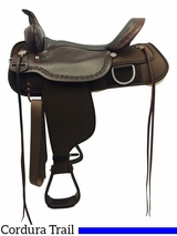 "** SALE ** 13"" to 17"" High Horse by Circle Y Magnolia Cordura Trail Saddle 6909"