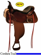 "13"" to 17"" High Horse by Circle Y Prairie Hill Cordura Trail Saddle 6919"