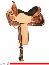 "13"" to 17"" High Horse by Circle Y The Proven Gun Sight Barrel Saddle 6222"