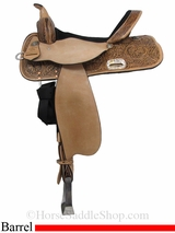 "13"" to 17"" High Horse by Circle Y The Proven Mansfield Barrel Saddle 6221"