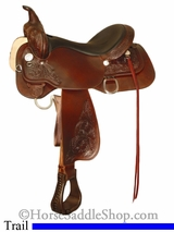 "13"" to 17"" High Horse 'Long Branch' Trail Saddle by Circle Y 6816"