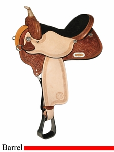 "** SALE **13"" to 17"" Circle Y Kelly Kaminski Spark Barrel Racer 3030 *free gift*"