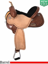 "** SALE ** 13"" to 17"" Circle Y Kelly Kaminski Spark Barrel Racer 3030 w/Free Pad"