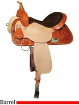 """13"""" to 17"""" High Horse by Circle Y Liberty Barrel Saddle 6212"""