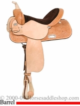"** SALE **13"" to 17"" Liberty Barrel Saddle High Horse by Circle Y 6212"