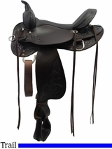 "** SALE ** 13"" to 17"" High Horse by Circle Y Oyster Creek Trail Saddle 6808"