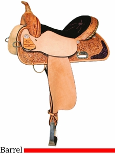 "13"" to 17"" High Horse by Circle Y Proven Aurora Barrel Saddle 6215"