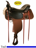 "13"" 14"" 15"" 16"" 17"" Reinsman Cordura Trail Saddle 4012"