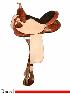 "13"" to 17"" The Proven Harmony Barrel Saddle High Horse by Circle Y 6211"