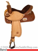 "** SALE **13"" to 17"" Circle Y The Proven Rush Barrel Racer 3029 *free pad or cash discount*"
