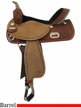 "** SALE ** 13"" to 17"" Circle Y The Proven Rush Barrel Racer 3029 w/Free Pad"