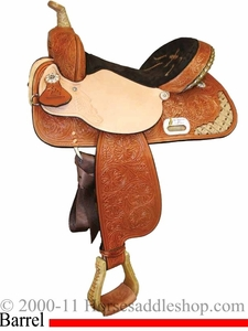 "13"" to 17"" The Proven Slendora Barrel Racing Saddle High Horse by Circle Y 6216"