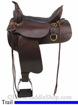 "13"" to 17"" Trail Saddle 'Big Springs' High Horse by Circle Y 6862"