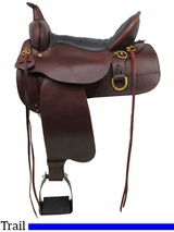 "** SALE ** 13"" to 17"" High Horse by Circle Y Big Springs Trail Saddle 6862"