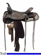 "** SALE ** 13"" to 17"" High Horse by Circle Y Winchester Trail Saddle 6819"
