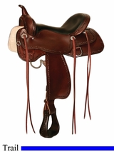 "13"" to 17"" Winchester High Horse Trail Saddle by Circle Y 6819"