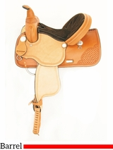 "13"" to 16"" American Saddlery The Champion Barrel Racing Saddle 838"
