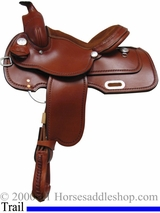 "13"" 14"" Rocking R Youth Trail Saddle 1409"