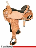 "13"" to 17"" Circle Y Martha Josey Ultimate Crystal Challenger Flex2 Barrel Racer 1170 *free pad or cash discount*"