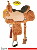"13.5"" 14"" 14.5"" 15"" Reinsman Flex Barrel Racer 4251"