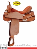 "13.5"" 14"" 15"" 16"" Billy Cook Barrel Racing Saddle #10-1521"