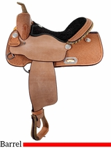 "** SALE ** 13.5"" to 16"" Billy Cook Barrel Racing Saddle 1521"