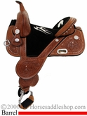 "13.5"" to 16.5"" Circle Y Jackie Jatzlau Treeless Barrel Racing Saddle 1330 1331 *free pad or cash discount*"